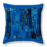 Scribbled Thoughts Throw Pillow