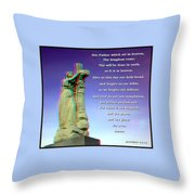 Scripture - Use Red-cyan 3d Glasses Throw Pillow