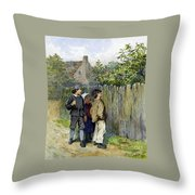 Scrumpers  Throw Pillow