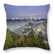 Scull Canyon Throw Pillow