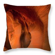 Sculpted By The Elements Throw Pillow