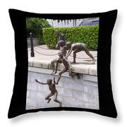Sculpture By The Bay Throw Pillow