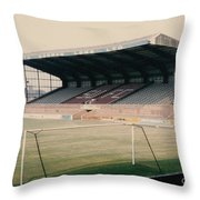 Scunthorpe United - Old Showground - East Stand 2 - 1970s Throw Pillow