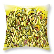 Scythe Bush Throw Pillow