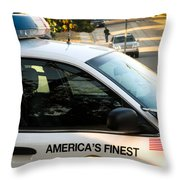 Sdpd Shelltown San Diego Throw Pillow