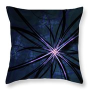 Sea Anemone Throw Pillow