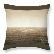 Sea At Sunrise Throw Pillow