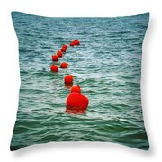 Sea Berries Throw Pillow