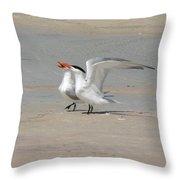 Sea Bird Song Throw Pillow