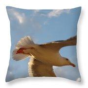 Sea Birds 9 Throw Pillow