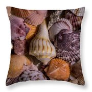 Sea Bones 20 Throw Pillow