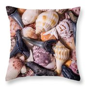 Sea Bones 22 Throw Pillow