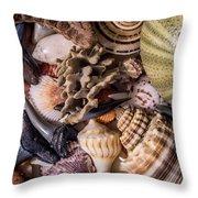Sea Bones 30 Throw Pillow