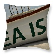 Sea Bound Throw Pillow