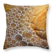 Sea Bubbles Throw Pillow