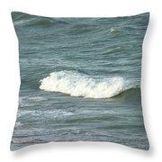 Sea Crest Throw Pillow