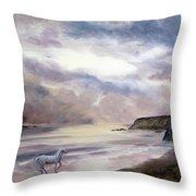 Sea Dancer Throw Pillow