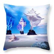 Sea Dancers Throw Pillow