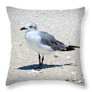 Sea Farer Throw Pillow