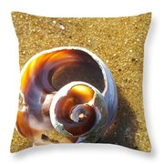 Sea Geometry Throw Pillow