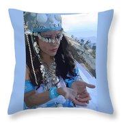 Sea Goddess Throw Pillow