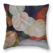 Sea Grapes Throw Pillow