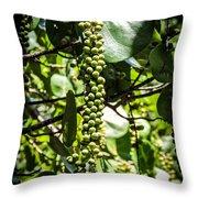 Sea Grapes Throw Pillow
