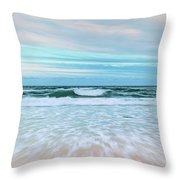 Sea Is Calling Throw Pillow