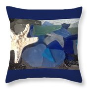 Sea Jewels Throw Pillow