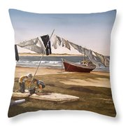 Sea Kids Throw Pillow