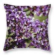 Sea Lavender Throw Pillow