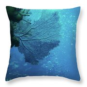 Sea Life- An Answer Of Peace Throw Pillow