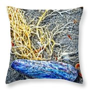 Sea Life Art By Sharon Cummings Throw Pillow
