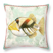 Sea Life-jp2857 Throw Pillow by Jean Plout