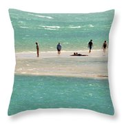 Sea Life Salt Life Key West Style  Throw Pillow