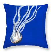 Sea Nettle II Throw Pillow
