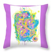 Sea Of Dance Throw Pillow
