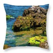 Sea Of Marmara Seashore Throw Pillow