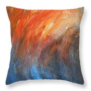 Sea Of Passion Throw Pillow