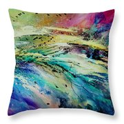 Sea Of Souls Throw Pillow