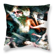 Sea Of Souls Submission Throw Pillow