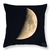 Sea Of Tranquility Throw Pillow