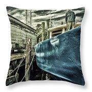 Sea Ready Throw Pillow