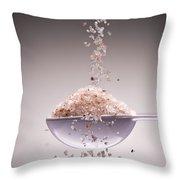 Sea Salt Throw Pillow