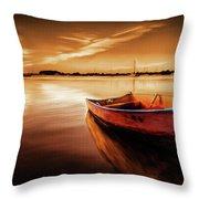 Sea Scape 01 Throw Pillow