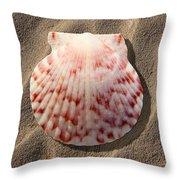 Sea Shell Throw Pillow