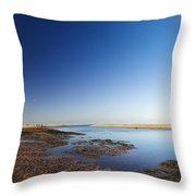 Sea Shore Wells Next The Sea Norfolk Throw Pillow