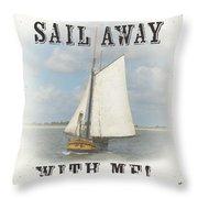 Sea Side-jp2729 Throw Pillow