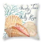 Sea Side-jp2731 Throw Pillow