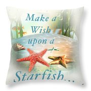 Sea Side-jp2735 Throw Pillow